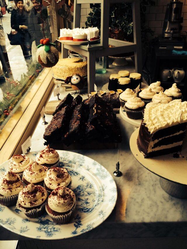 Beaut little coffee shop in South Kensington xx