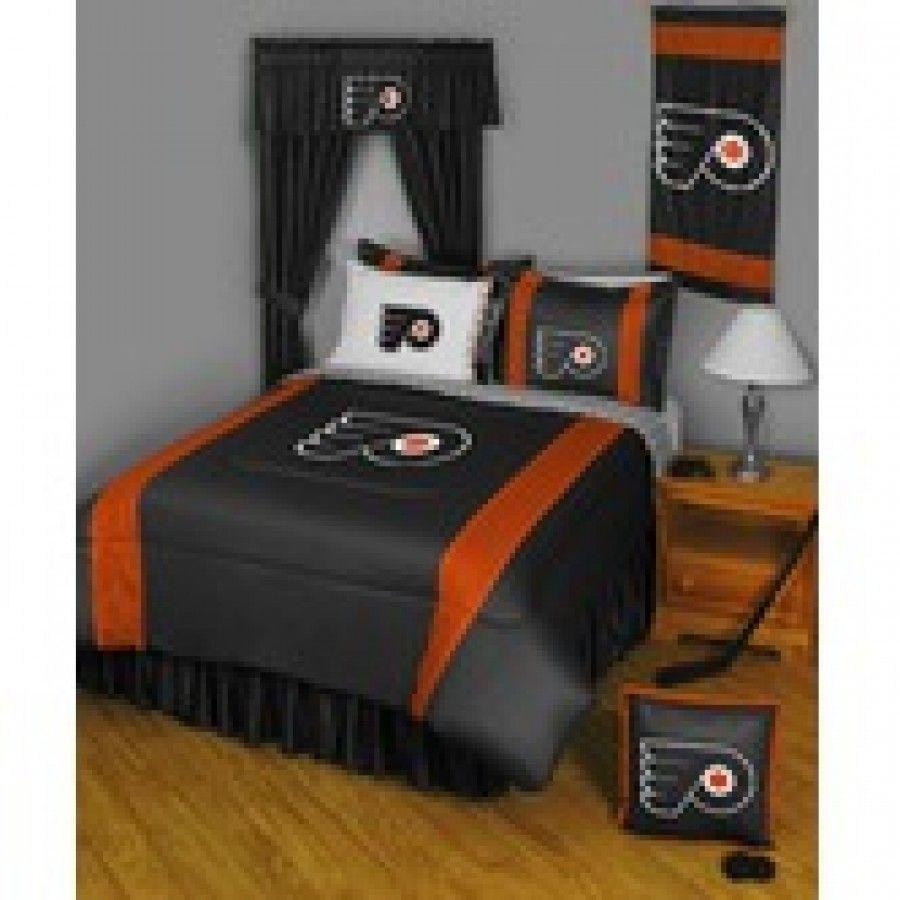 Philadelphia Flyers Bedroom Northwest Co Philadelphia Flyers Bedding Series Nhl