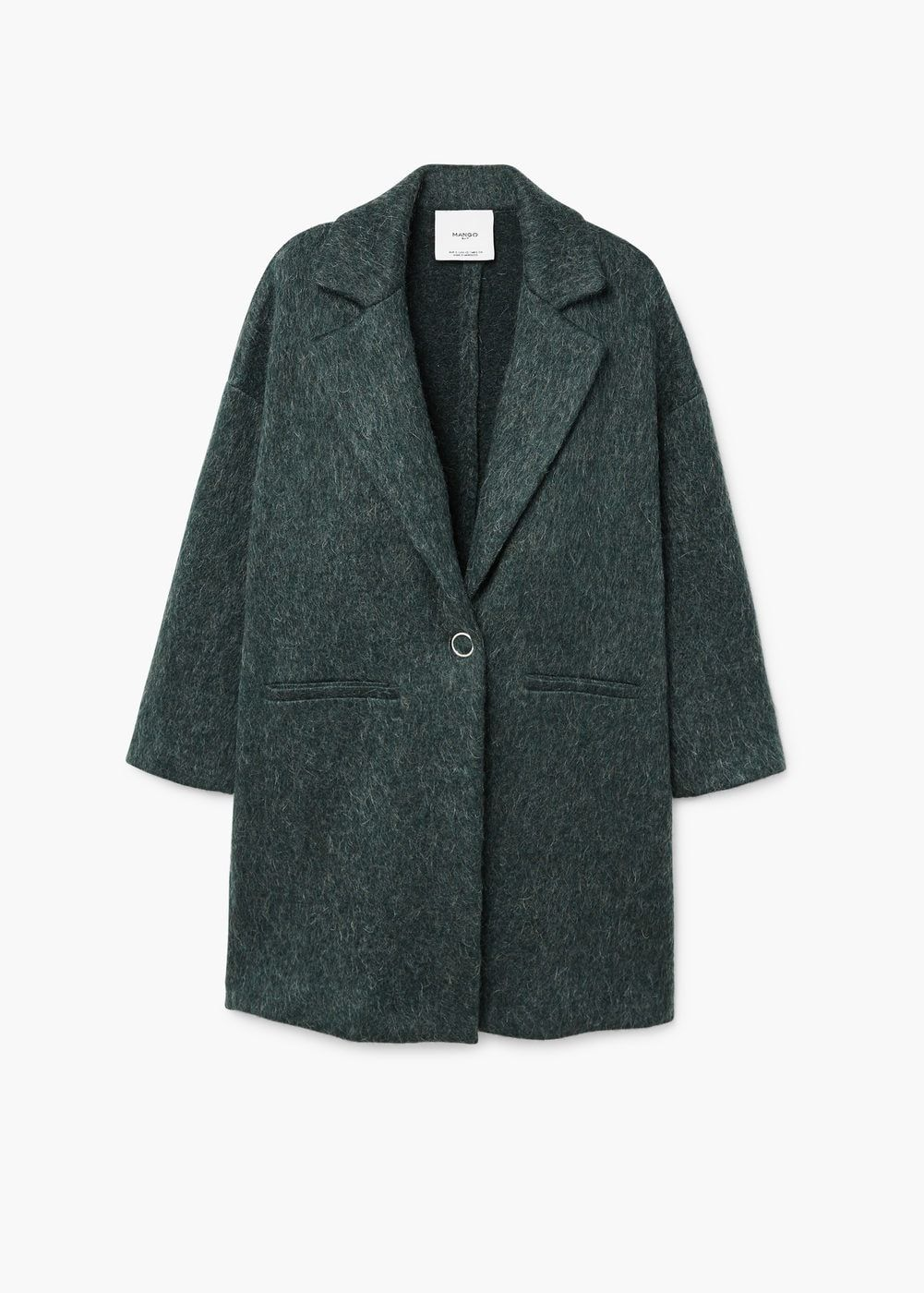 MäntelDamen Mohair Unstructured WomenMango Coat Blend qSUzpVM