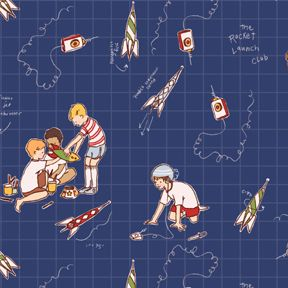 "Michael Miller ""Rocket Launch Club"""