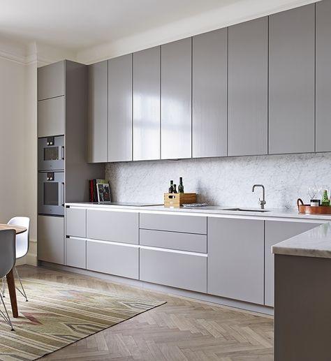 Grey kitchen | Cocinas Integrales Mödul Studio                                                                                                                                                                                 More