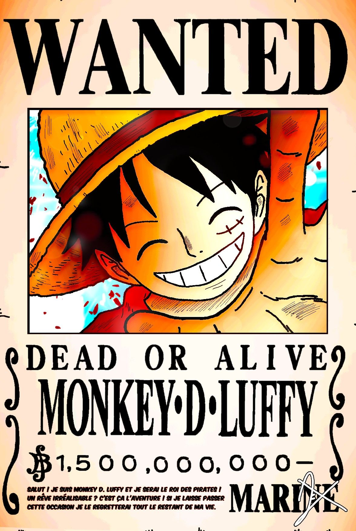 Pin By Zahra Melisa On One Piece ワンピース Monkey D Luffy Luffy Poster Template