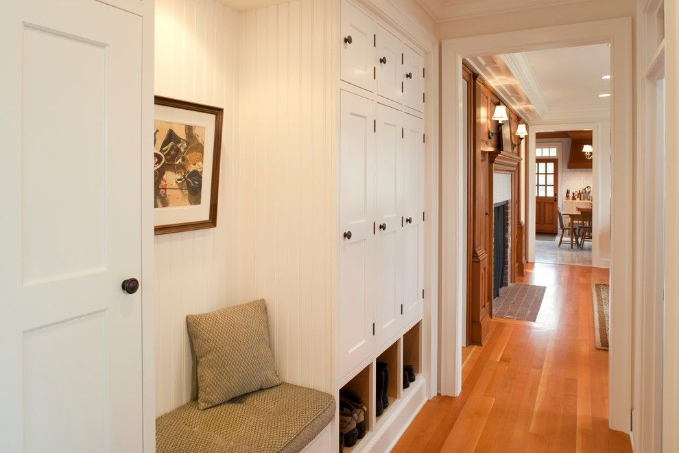 Mudroom Backpack Storage Hall Traditional With Shoe