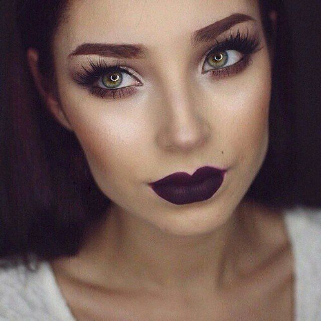 17 Real Girls Show Us How to Wear Dark Lipstick | Makeup, Beauty ...