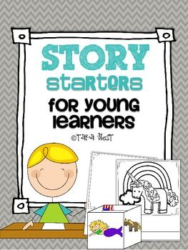 FREE-Story Starters {roll a story}..Balanced Literacy, Short Stories ...