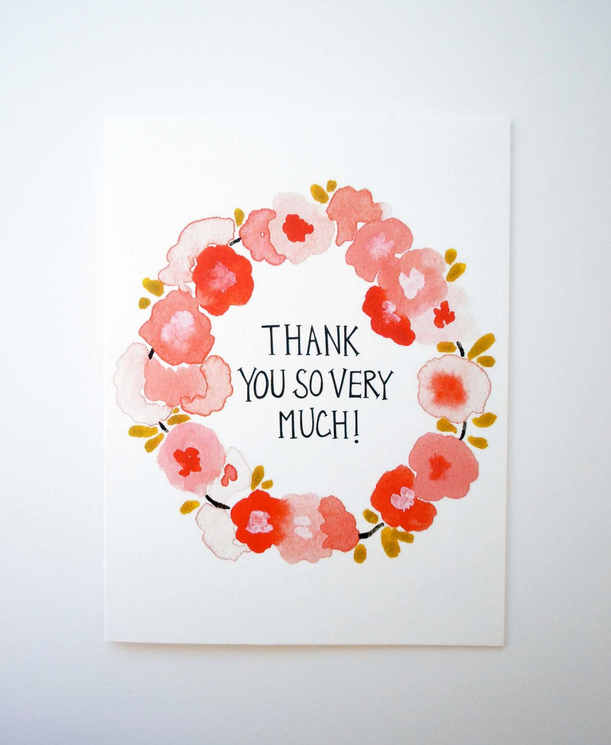 Thank you so very much card envelope envelopes thank you so very much card envelope par katespapergoods sur etsy kristyandbryce Choice Image