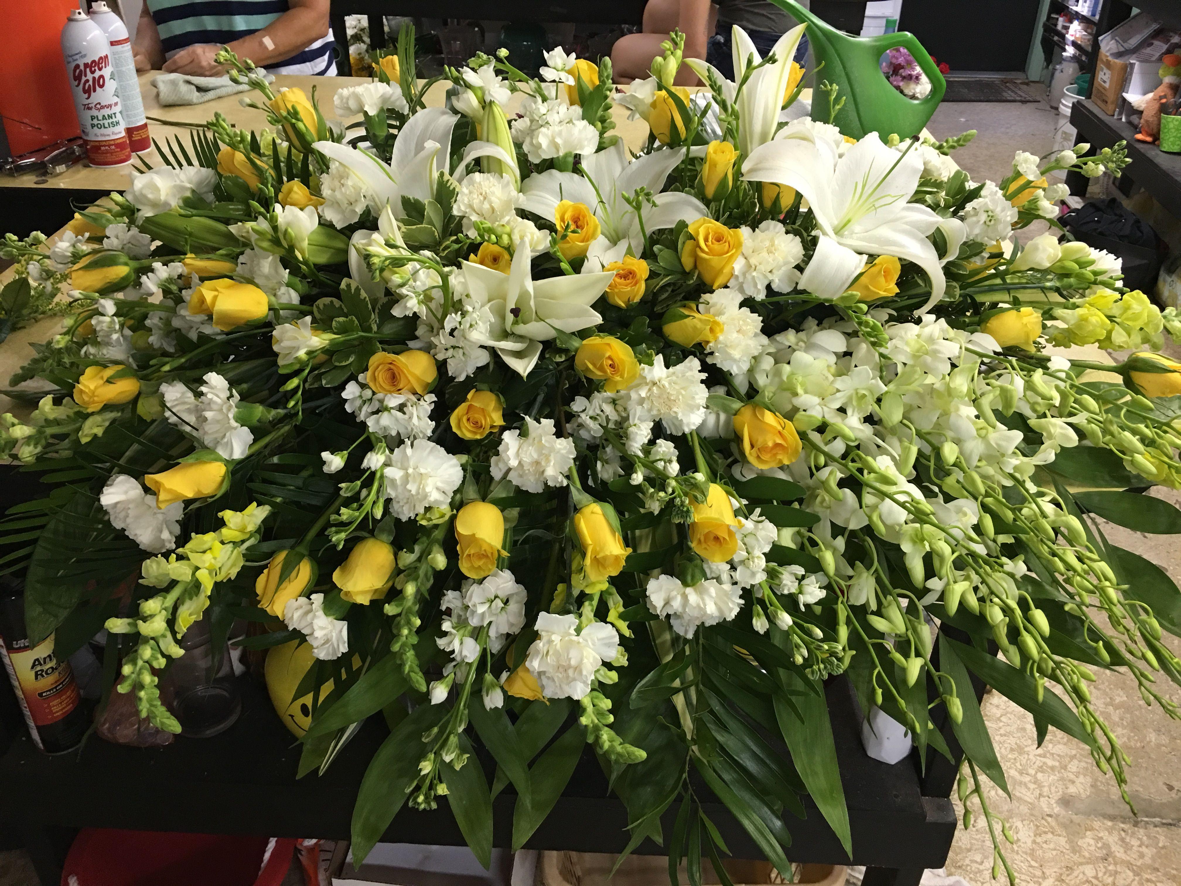Pin By Dotties Florist On Funeral Flowers Pinterest Funeral Flowers