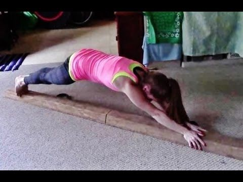 beam drill for better cartwheels  handstands with images