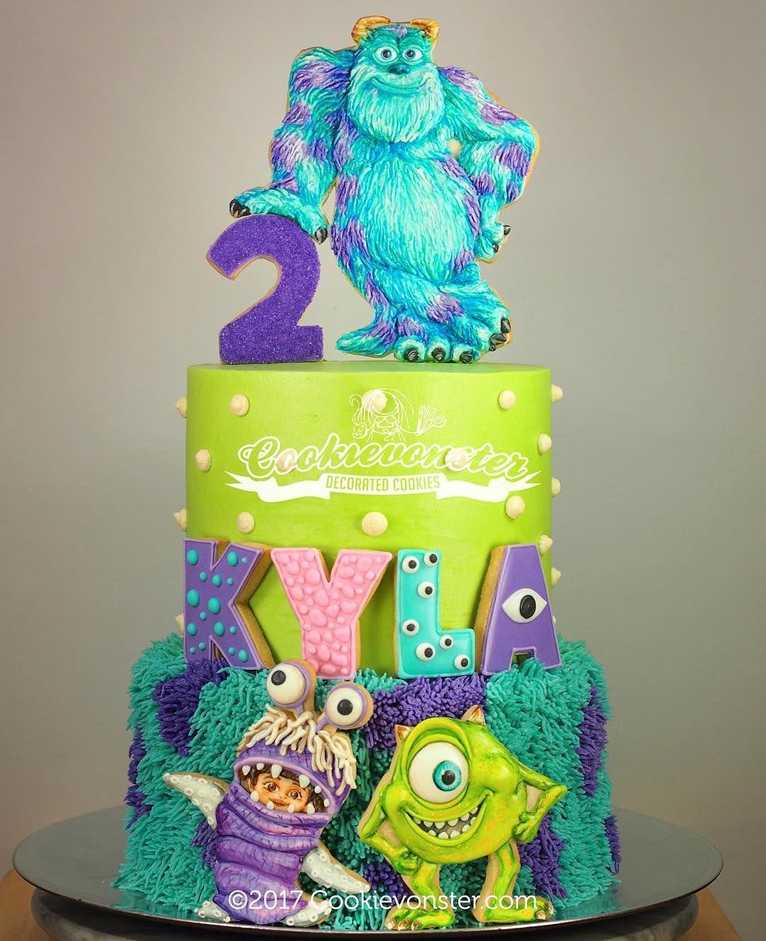 Pleasing Sulley Mike And Boo So Fun Monsterinc Funny Birthday Cards Online Hendilapandamsfinfo