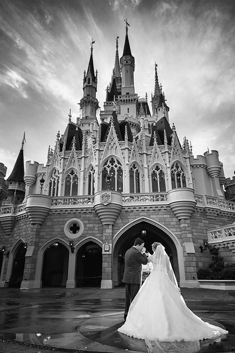 Disney's Fairy Tale Weddings is ready to make your wedding dreams come true. Photo: Beth, Disney Fine Art Photography