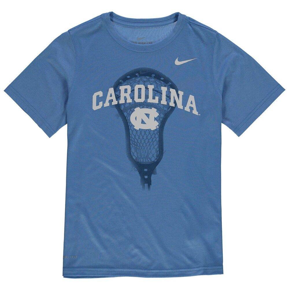 Youth Nike Light Blue North Carolina Tar Heels Lacrosse Performance T Shirt Boy S Size Youth Xl North Carolina Tar Heels Lacrosse Shirts Tar Heels [ 1000 x 1000 Pixel ]