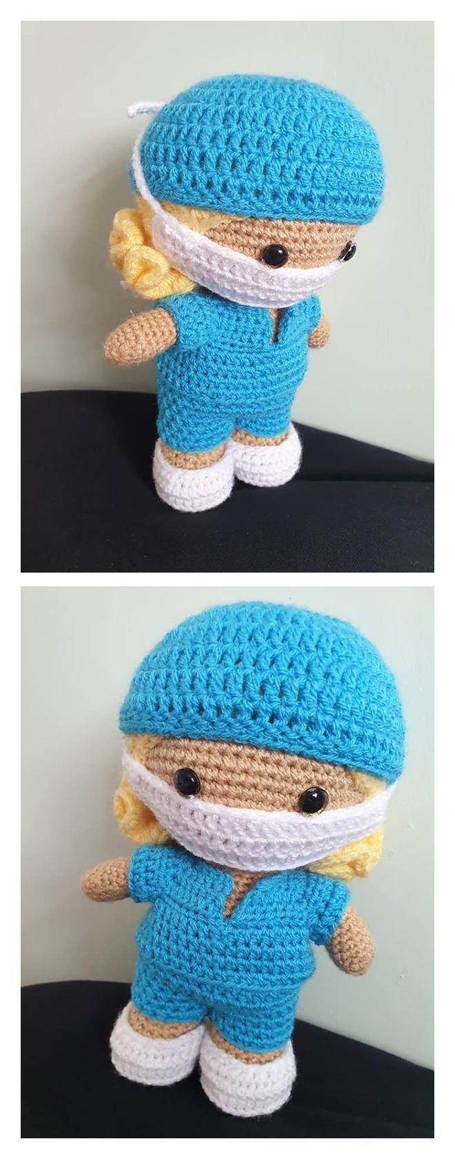 Weebee Doll Free Crochet Pattern