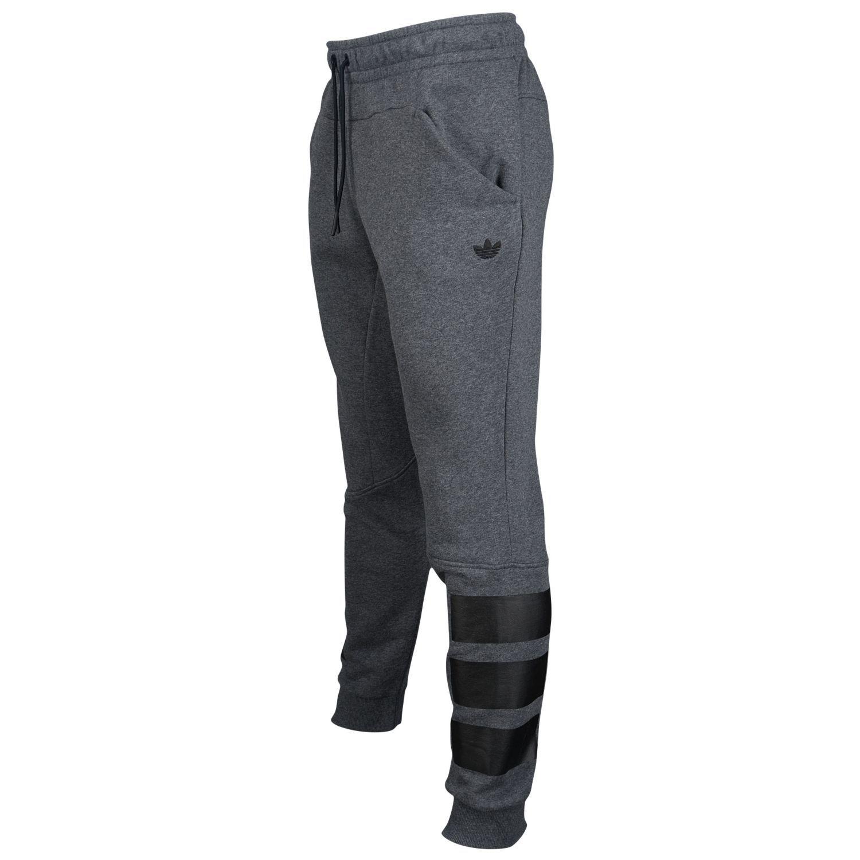 adidas Originals 3 Bar Jogger - Men's - Casual - Clothing - Black