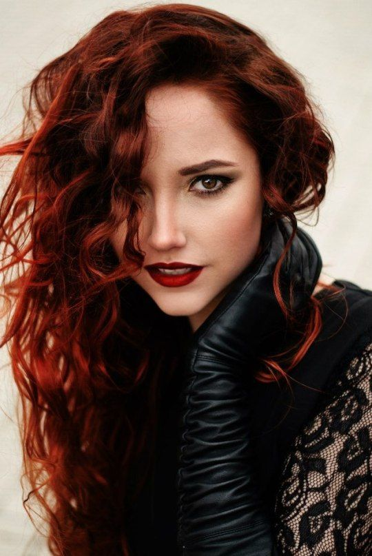 Really. And gloves redhead leather