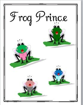 This is a zipped folder with 16 graphics of a frog prince in a variety of colors each saved in .png AND .jpg formats. This is the one of many graph...