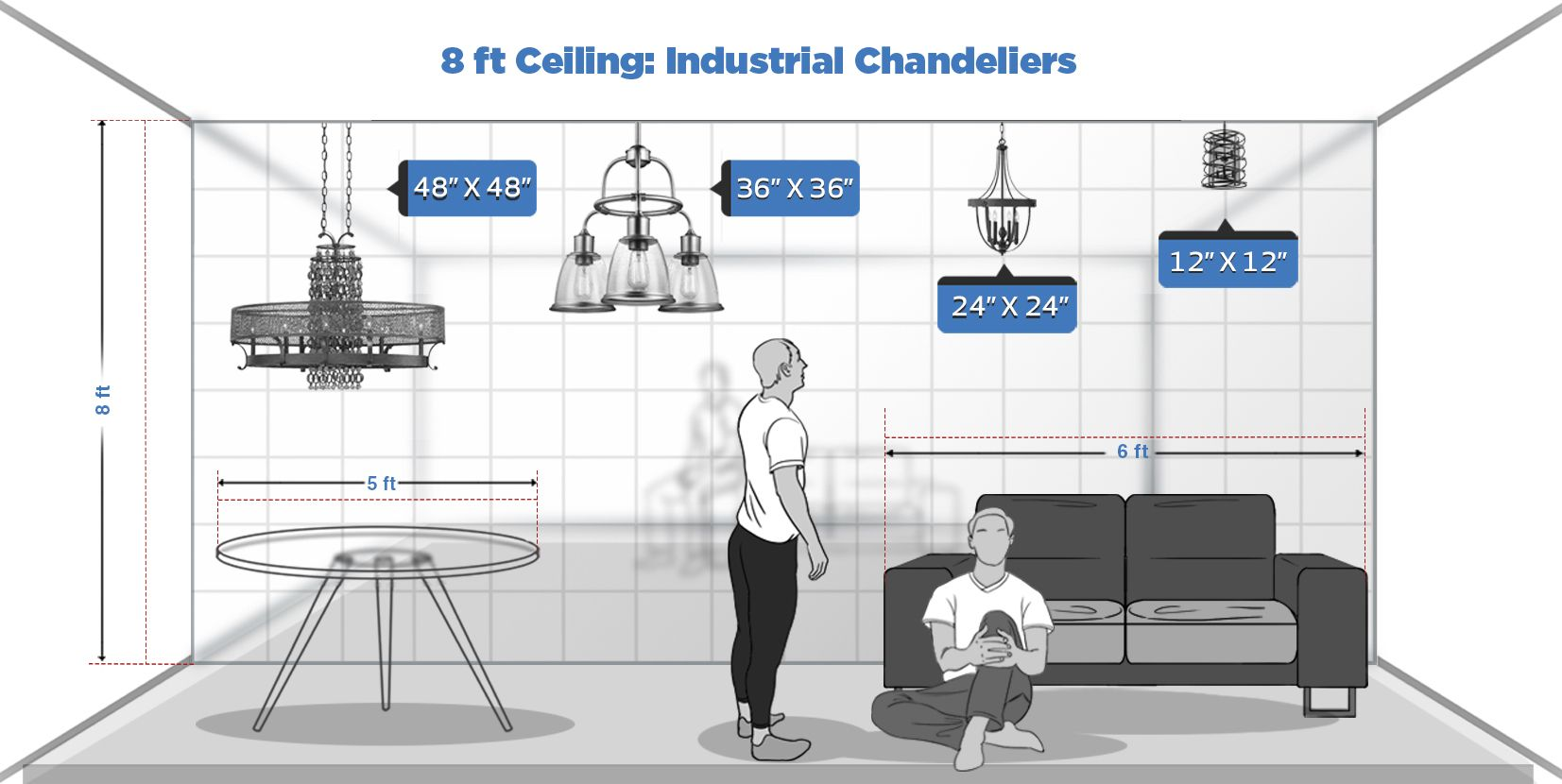 Chandelier Ceiling Height Guide To Scale Cheat Sheet Bellacor Bright Ideas Blog Ceiling Height Lights Over Dining Table Ceiling Chandelier