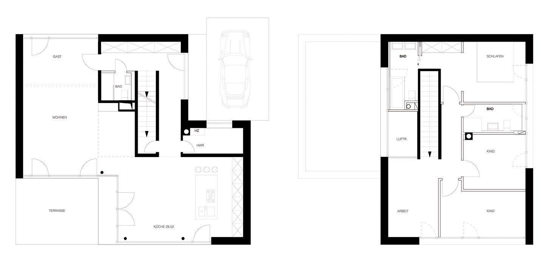 Dieses Wohnhaus Für Eine Familie Mit Zwei Kindern Erzählt Die Ganz Typische  Geschichte Vom Traum, Ein Eigenes Haus Zu Bauen U2013 Mit All Seinen  Unwägbarkeiten ...