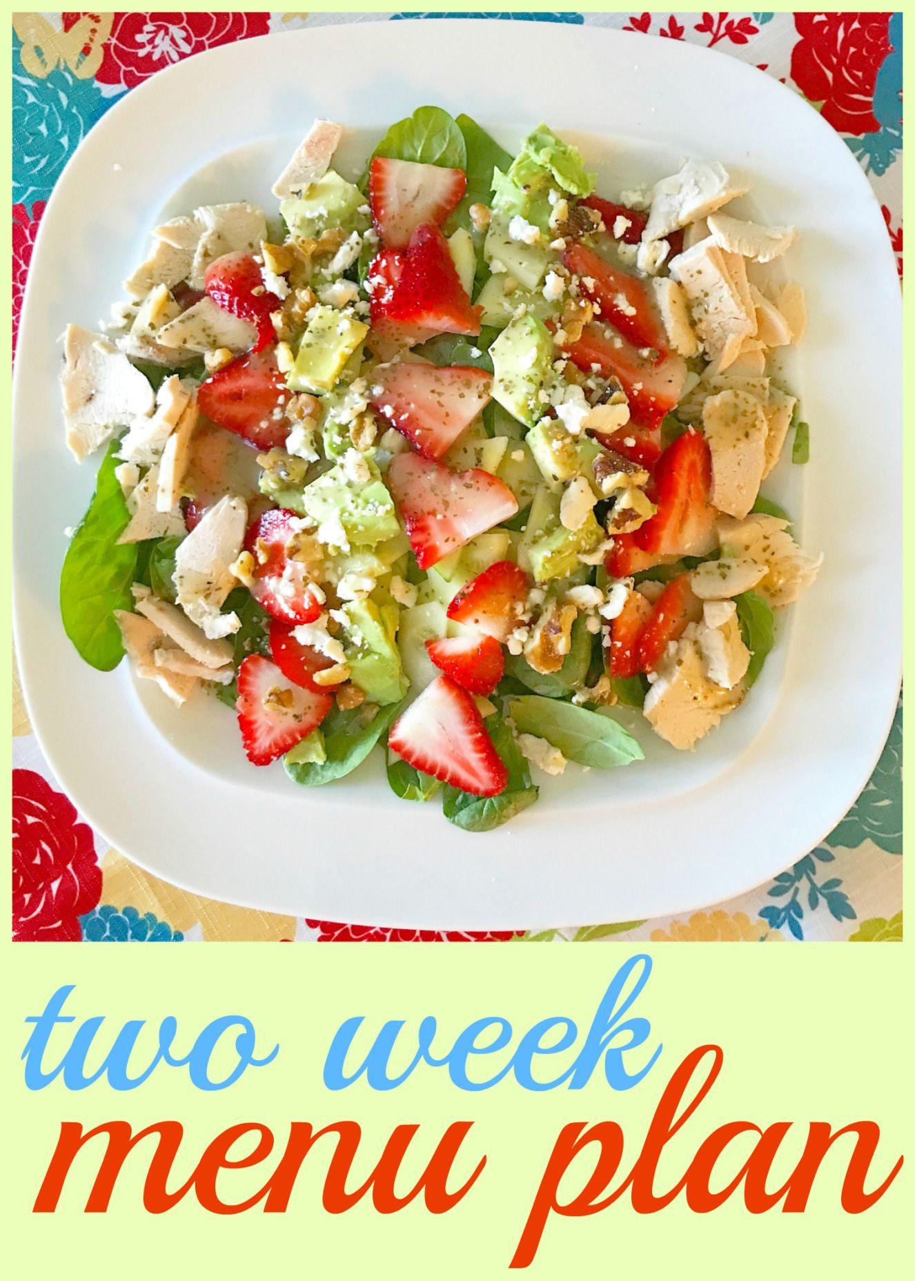 TwoWeek Menu Plan {Menu Monday} Cooking on a budget