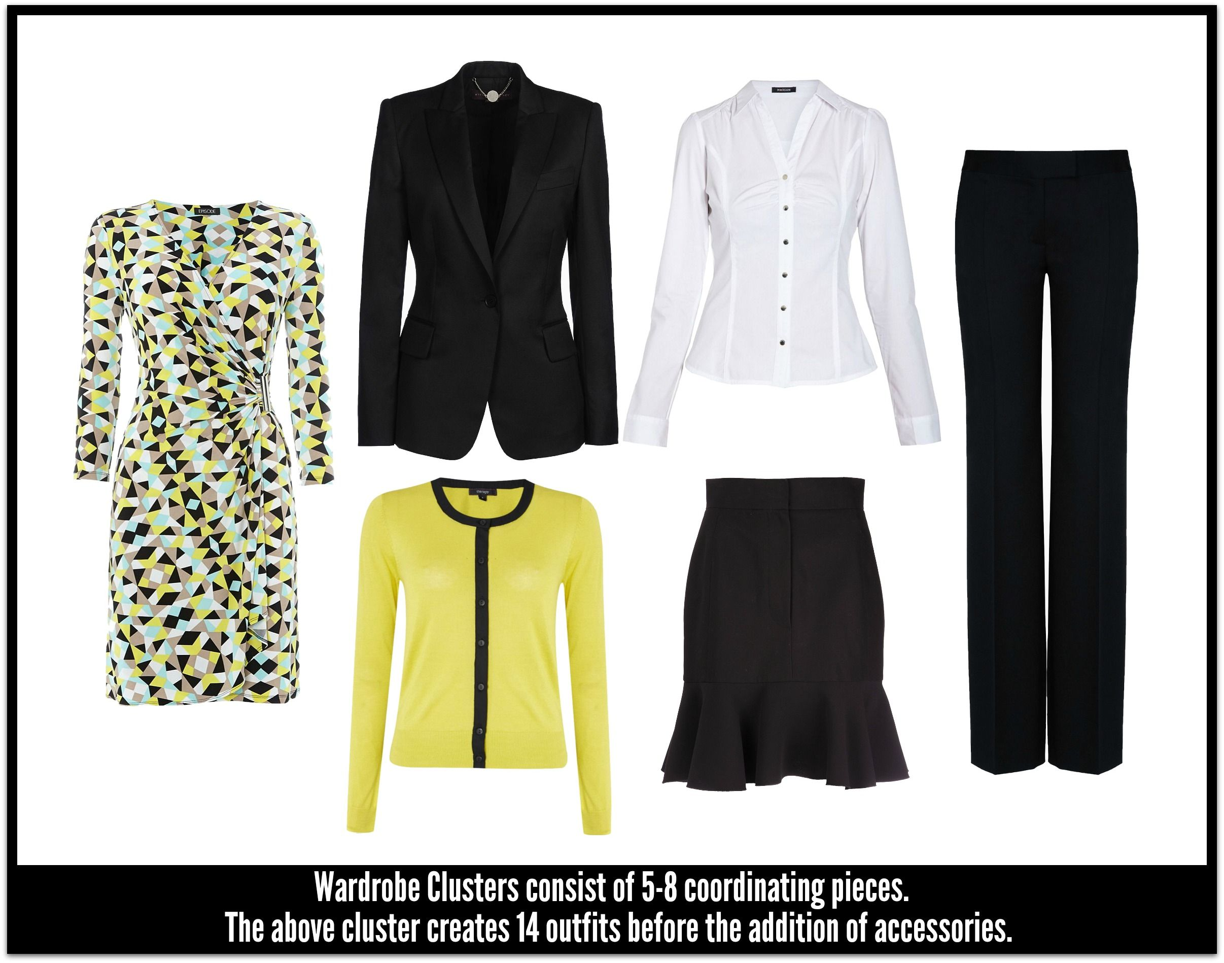 This is a good article on how to do a wardrobe cluster called the
