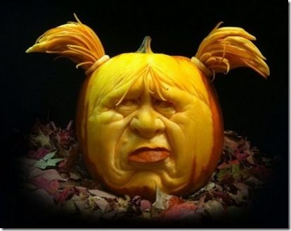 cool amazing awesome special excellent great pumpkin faces carving Halloween jack-o-lantern