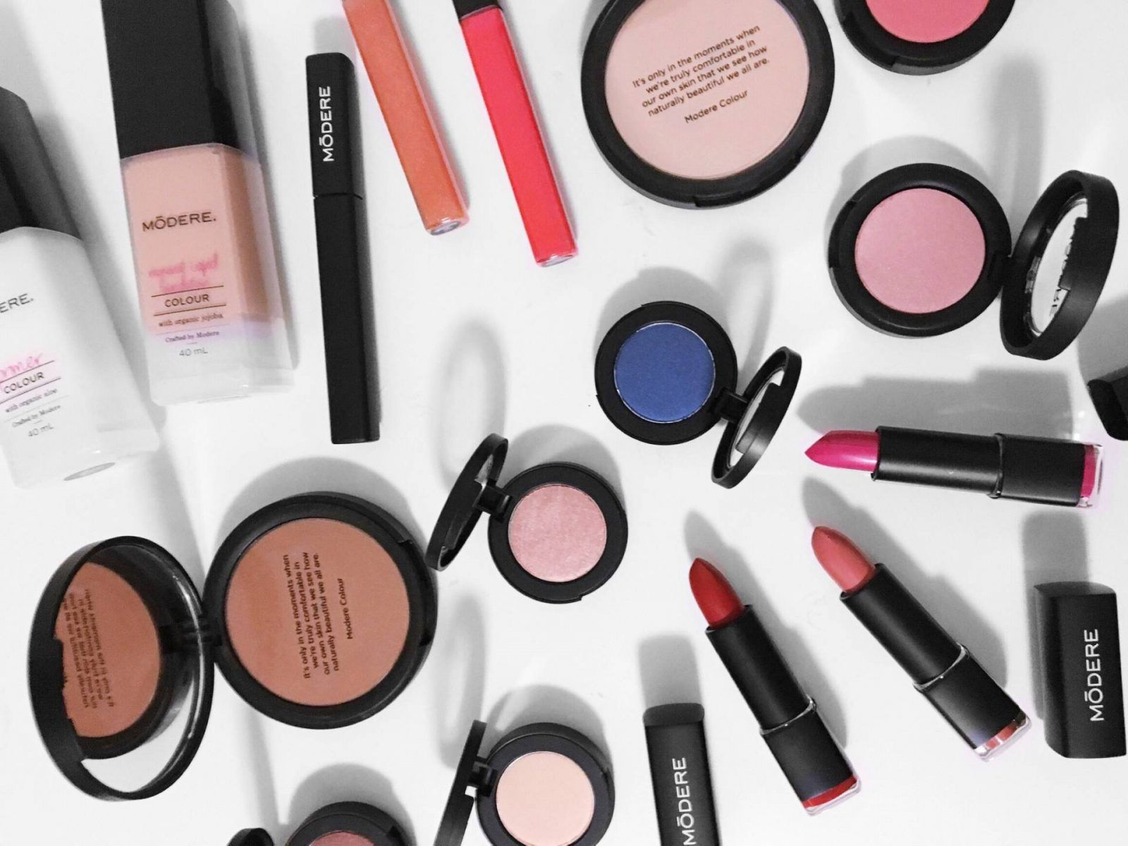 Certified Organic Makeup with Modere Colour Certified