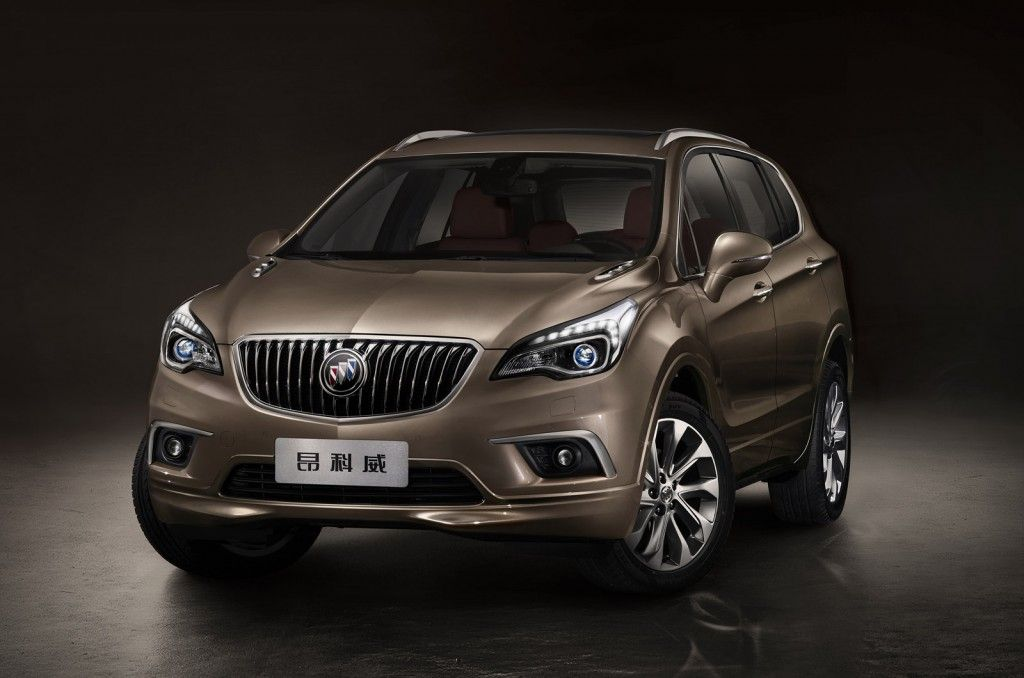 2015 Buick Envision Chinese Spec Buick Envision Buick 2015 Buick