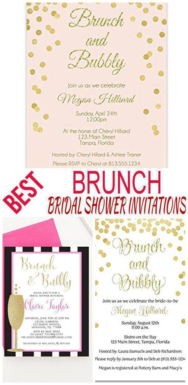 Brunch Bridal Shower Invitations | Bridal Shower | Pinterest ...