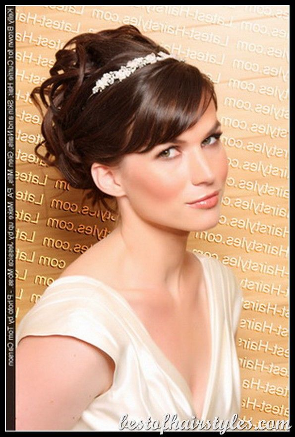 Women Hairstyles Ideas Short Hair | Bridesmaids updos, Bridal ...
