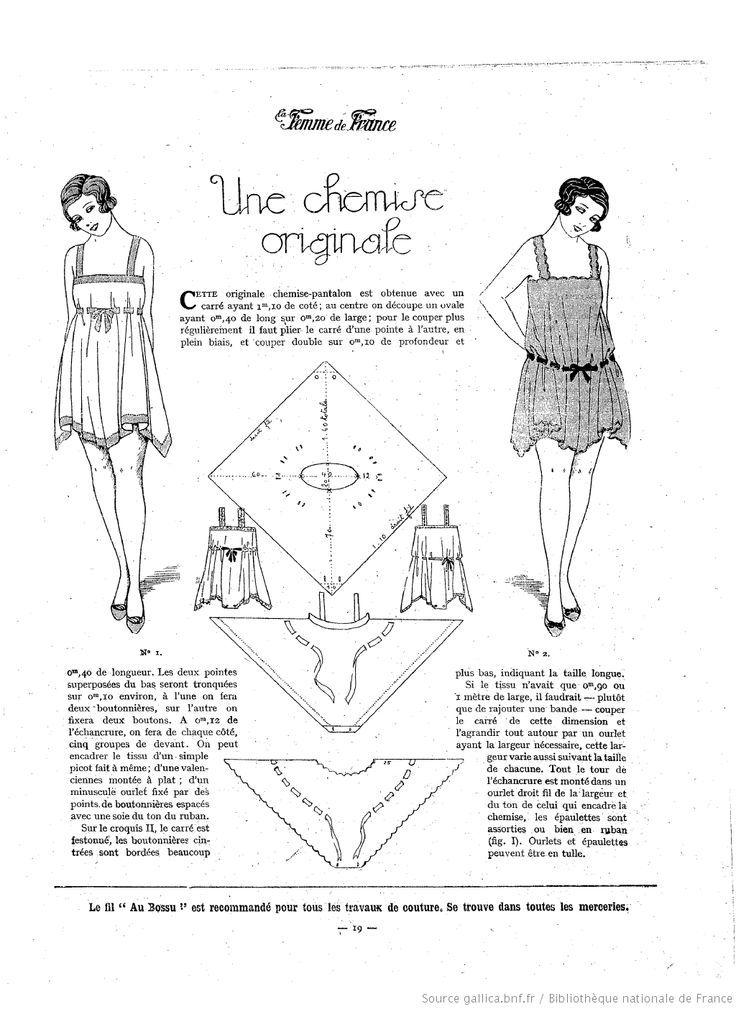 Resultado de imagen de 1920 sewing pattern transformers | Confección ...