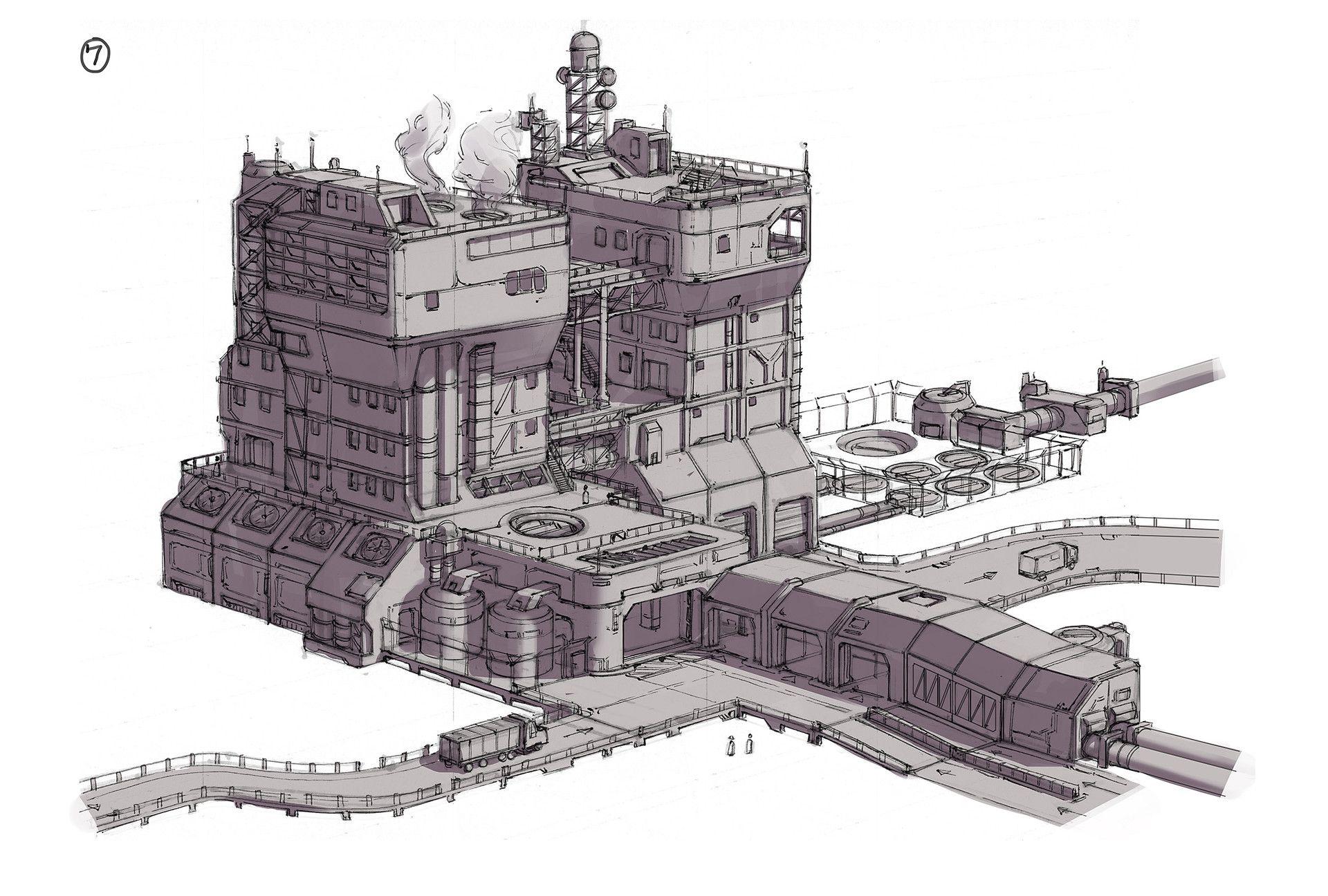 ArtStation - Exoplanet Factory, Adam Taylor   Environment ...