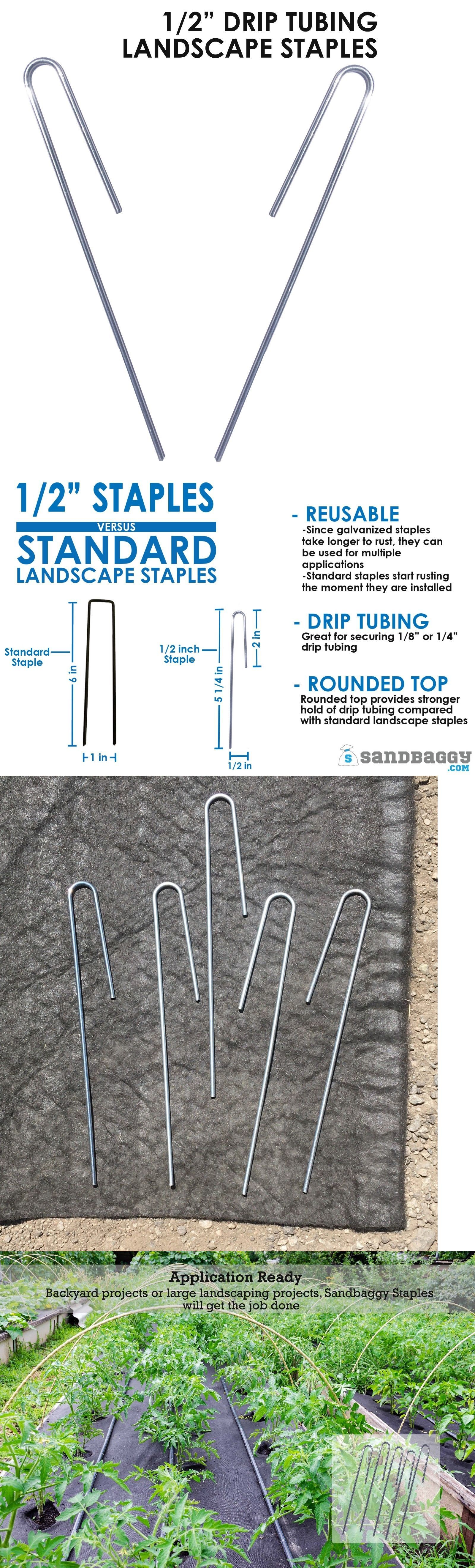 Anchor Pins Staples And Stakes 181028 1 2 Landscape Staples Sod