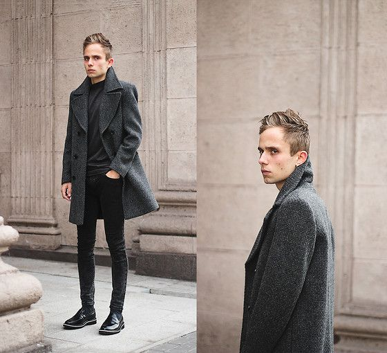 Coat, Shoes