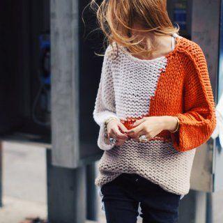 cbd3926c7afc 14 pulls que l on a envie de se tricoter ! - Marie Claire Idées