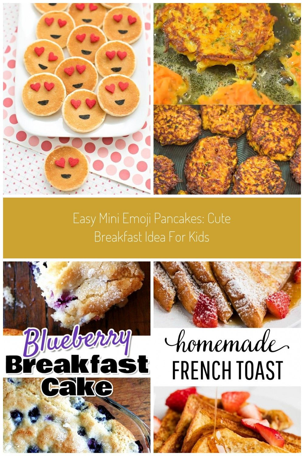 Easy Mini Emoji Pancakes Cute Breakfast Idea For Kids Breakfast Ideas Easy Brunch Food Easy Mini Emoji Pancakes Cute Breakfast Idea For Kids