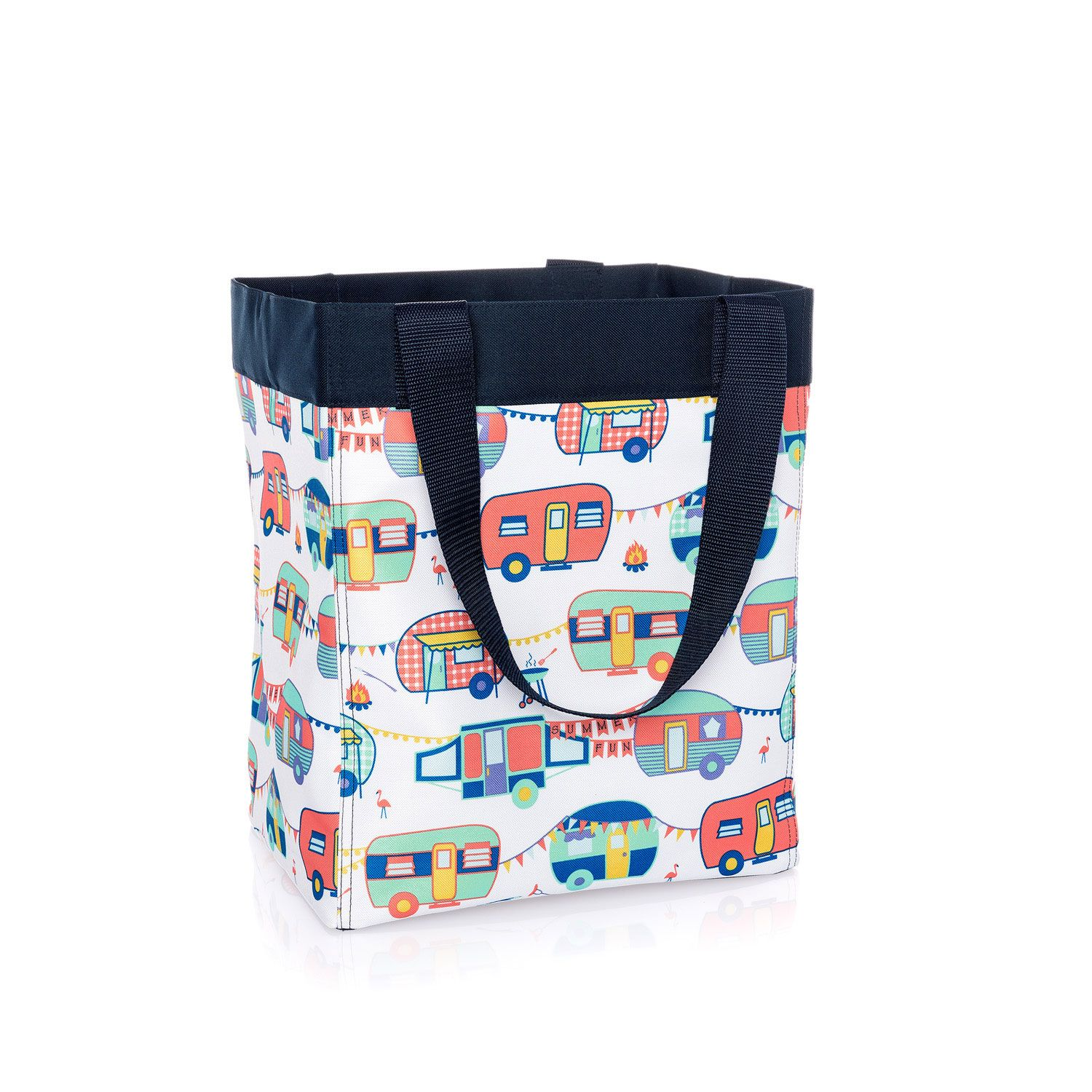 Charmant Happy Campers   Essential Storage Tote   Thirty One Gifts
