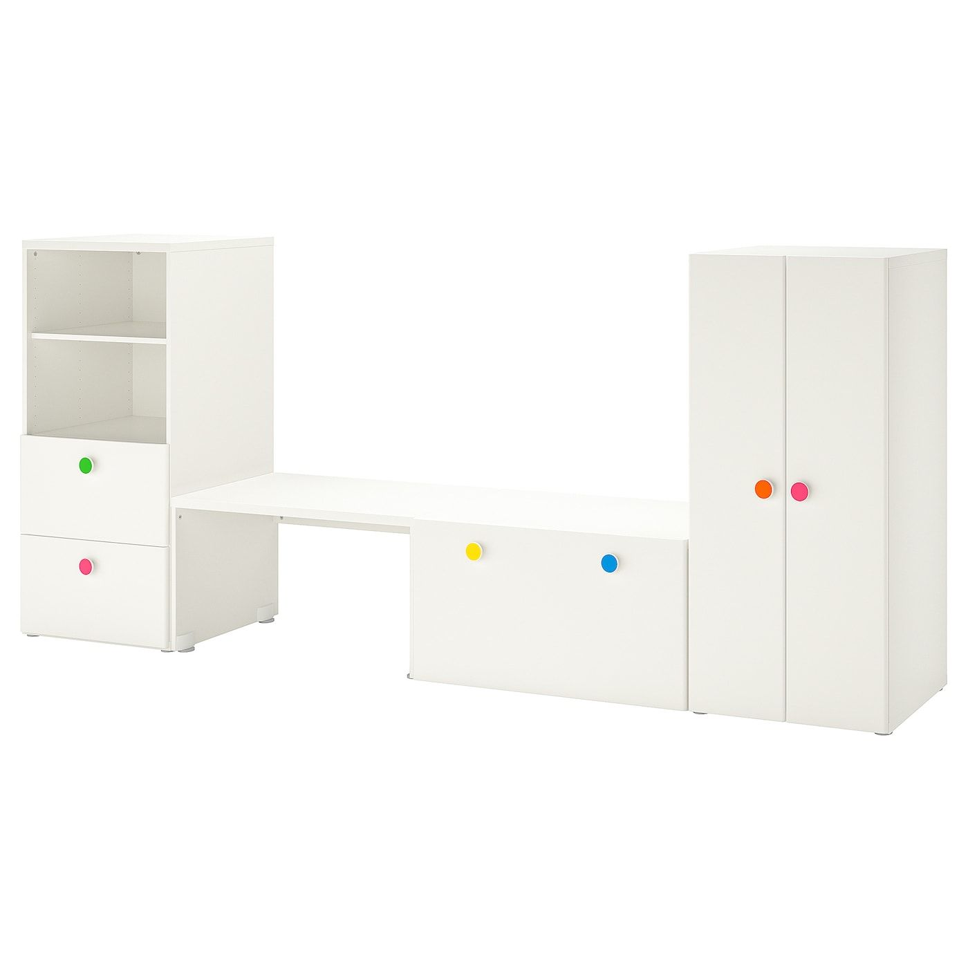 Armadietti In Plastica Ikea.Stuva Folja Combinazione Con Panca Bianco Idee Ikea Ikea E