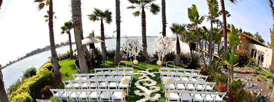 San Diego Beach Wedding Venue Paradise Point Resort And Spa Beautiful Outside