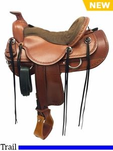 Sale 155 To 185 Tucker Dead Wood Trail Saddle 282 Wfree Pad