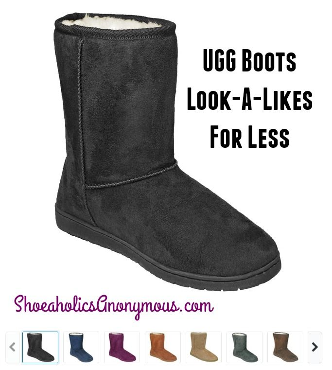 16e6b4877 With cold weather approaching, Ugg boots are all the rage. And I have three  daughters who all want their own pair! Well, I found some Ugg alternatives,  ...