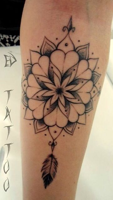 Compass rose tattoo girls