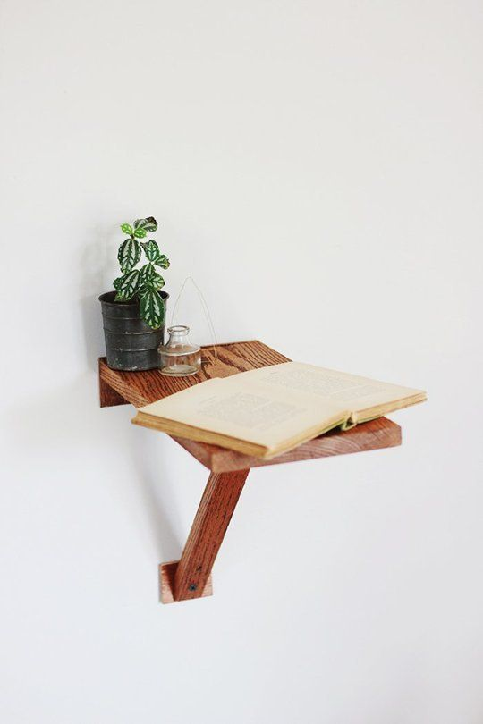 DIY Project Ideas WallMounted Tables for Every Room in the House