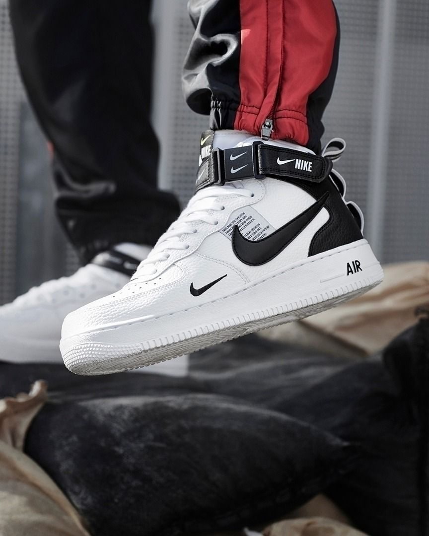Nike Air Force 1 07 Mid Lv8 Utility Via Jdsportsfi Sporty Shoes Sneakers Fashion Nike Air