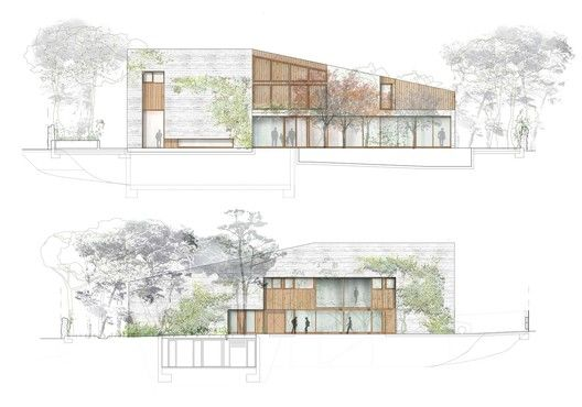 Gallery of The Best Architectural Drawings of 2018  - 29
