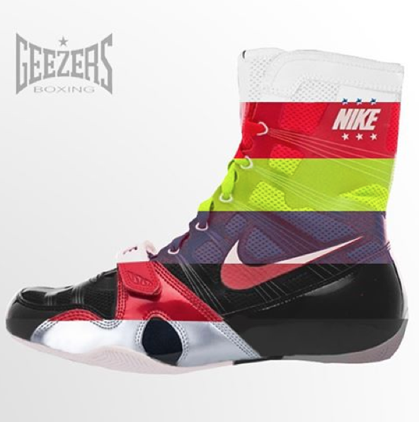 NIKE HYPER KO's Which colour would you choose? http://www.geezersboxing
