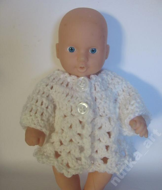 Ubranko Dla Lalki Bobas Ok 20 Cm Sweterek 5861643203 Oficjalne Archiwum Allegro Doll Clothes Crochet Hats Clothes