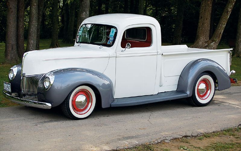 Vintage Air Tour 1940 Ford Pickup Vintage Pickup Trucks Chevy Pickup Trucks Classic Cars Trucks