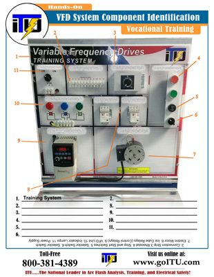 VFD Component Identification PDF
