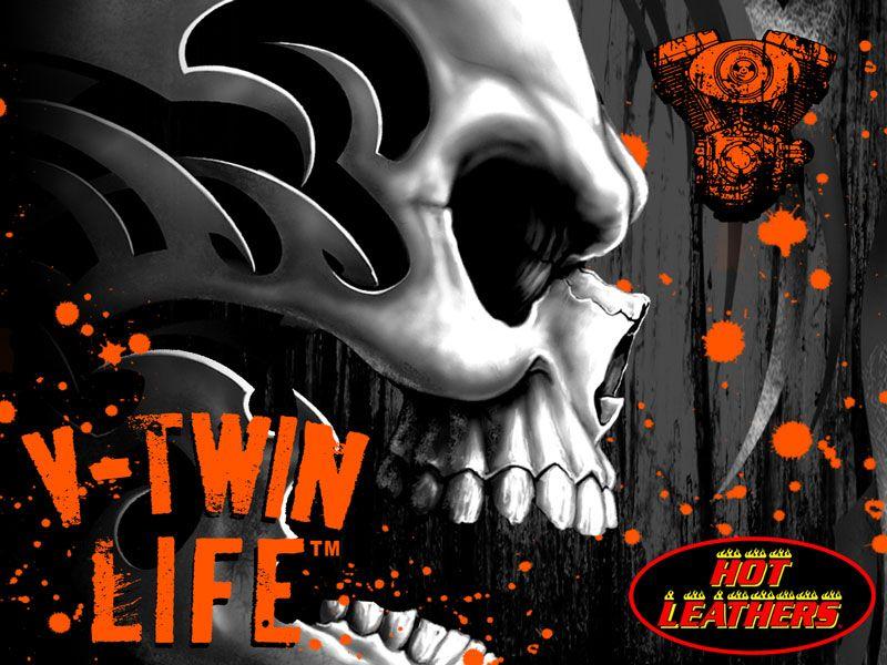 Vtwin motor skull wallpaper bike pinterest skull wallpaper vtwin motor skull wallpaper voltagebd Images