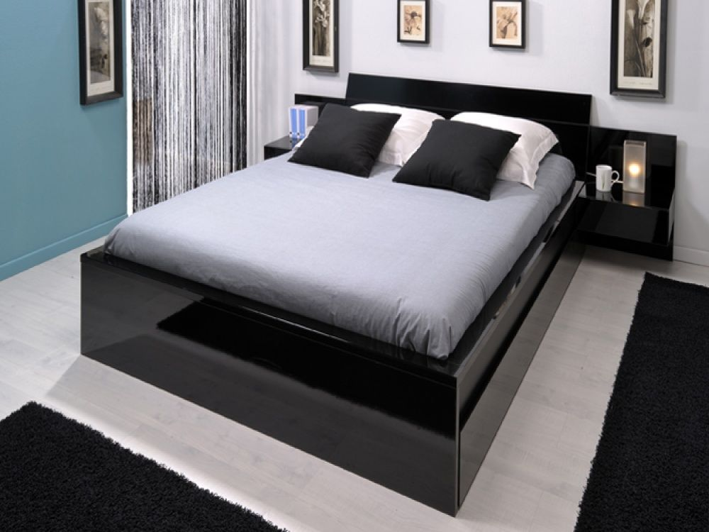 beds pictures | Beds aren't just for sleeping in. Well, actually, they  mostly are ... | House Stuff | Pinterest | Bed design, Black beds and Flat  ideas