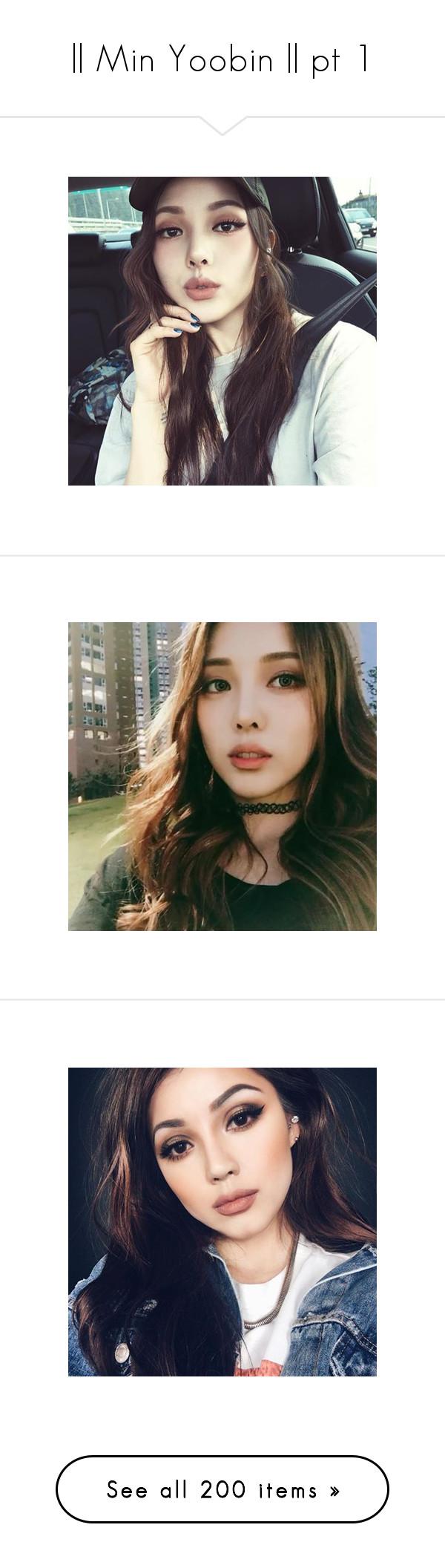 """|| Min Yoobin || pt 1"" by min-yoobin ❤ liked on Polyvore"